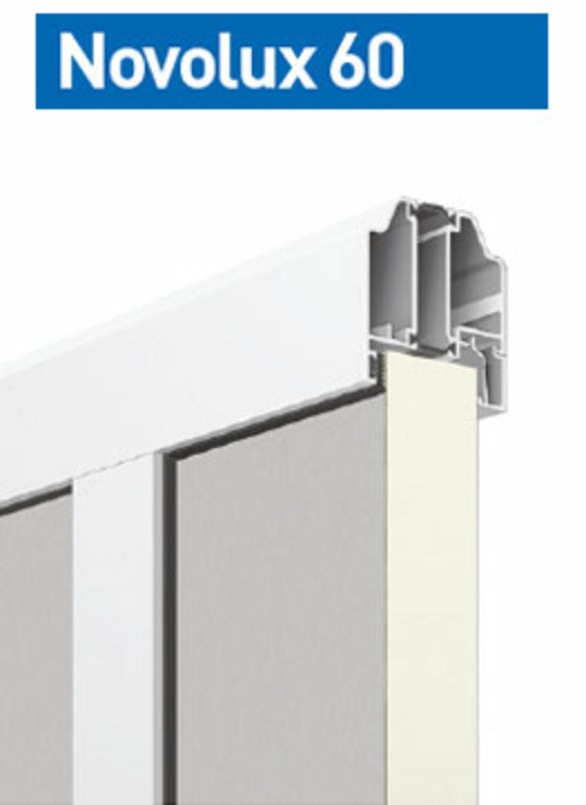 Novolux 60 40 mm: płaska blacha
