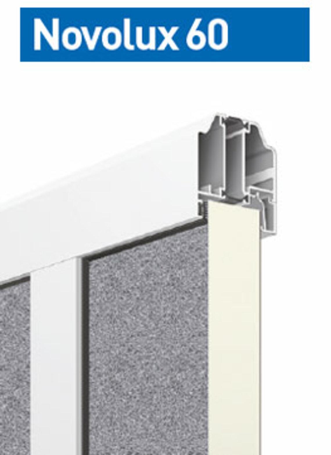 Novolux 60 40 mm: stucco