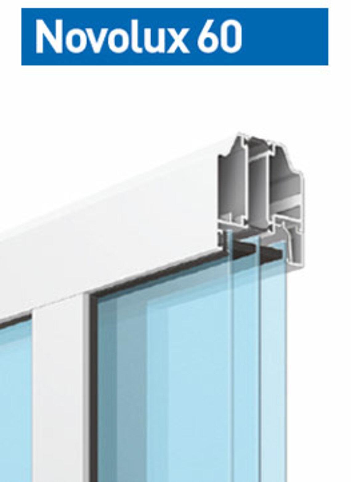 Novolux 60  40 mm: szkło akrylowe (przepuszczalność światła 100%)
