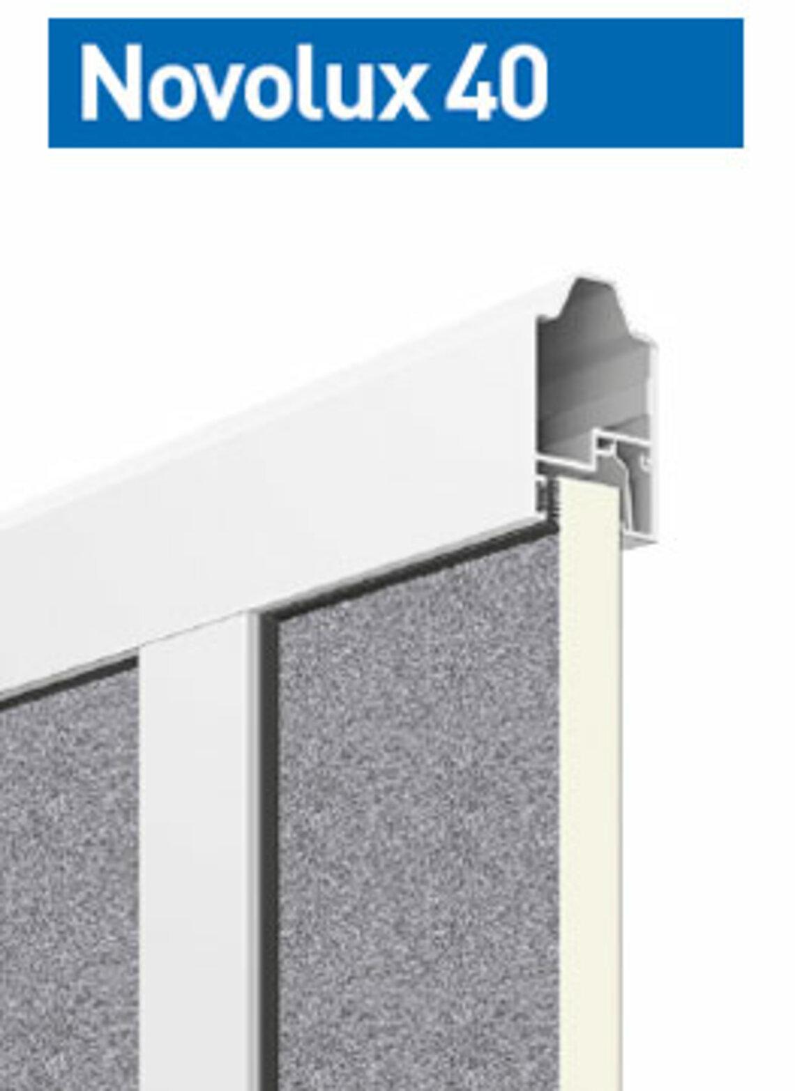 Novolux 40 20 mm: stucco