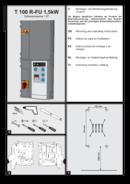 Instrukcja sterowania do bram szybkobieżnych T100 R-FU 1,5kW