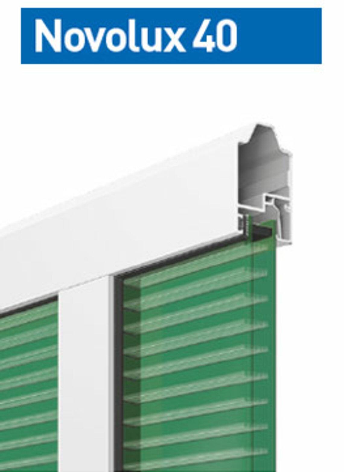 Novolux 40  20 mm: zielony
