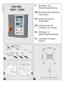 Instrukcja sterowania TAD MS brama + dok wysuwany