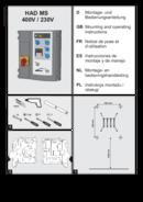 Instrukcja sterowania HAD MS brama + dok opuszczany