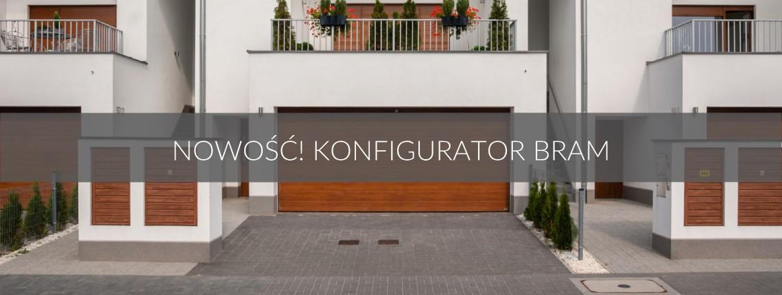 Sprawdź nasz nowy konfigurator bram garażowych iso 45!