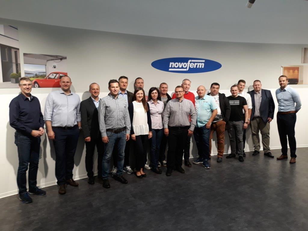 szkolenie dystrybutorów Novoferm w Dortmundzie