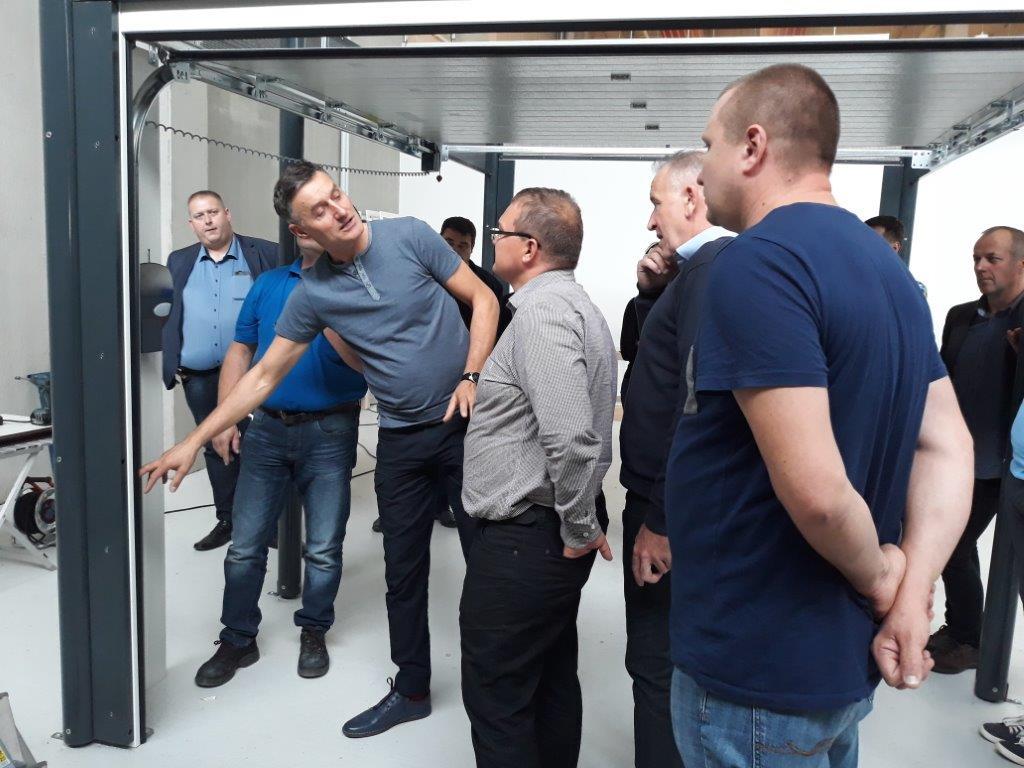 szkolenia dystrybutorów Novoferm i pokaz showroom w Dortmundzie