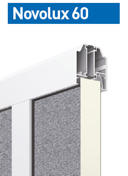 Novolux 60 40 mm: stucco