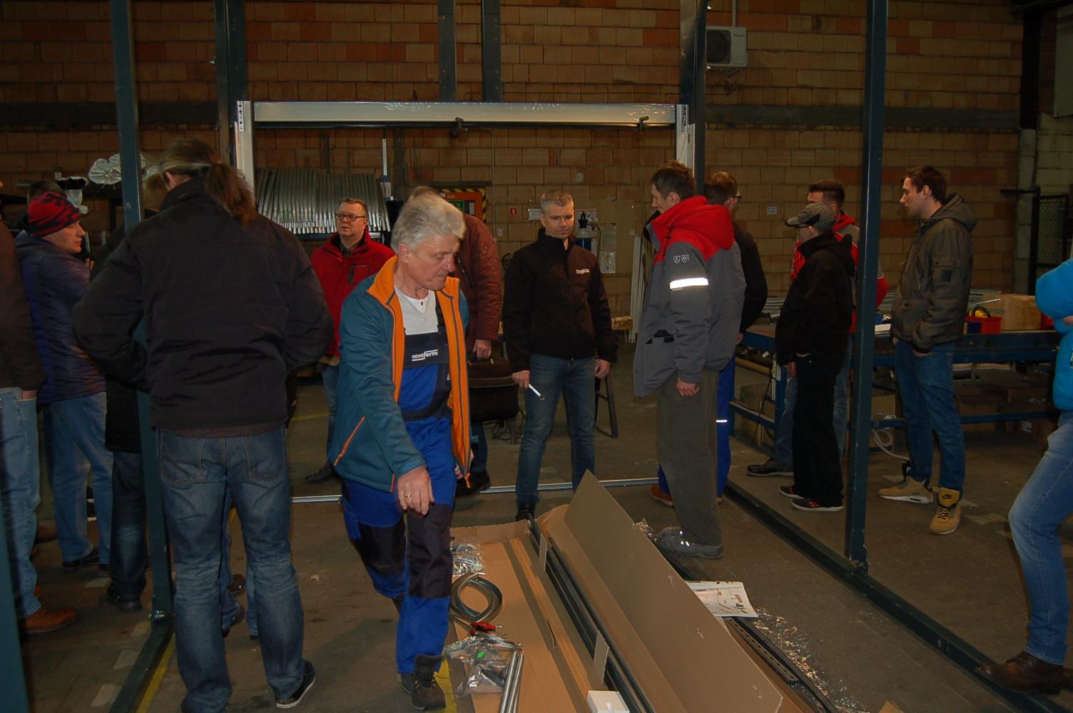 szkolenia montażowe w ramach Drzwi otwartych Novoferm w Poznaniu